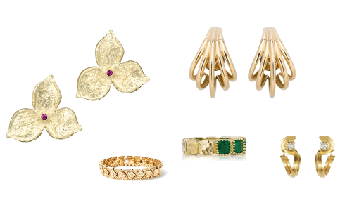 7 Pieces of Responsibly Sourced Gold Jewelry, From Ana Khouri to Sandrine B.