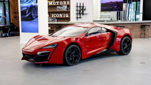 The Lykan HyperSport Stunt Car From the Insane 'Fast & Furious 7' Skyscraper Scene Is Up for Auction