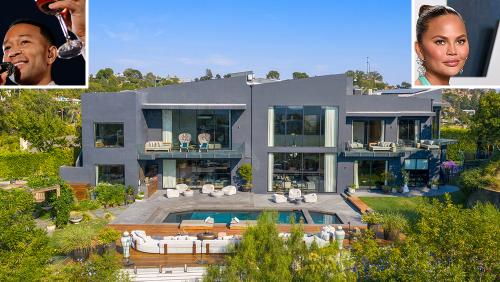 Chrissy Teigen and John Legend Just Gave Their Beverly Hills Mansion a $6 Million Price Cut