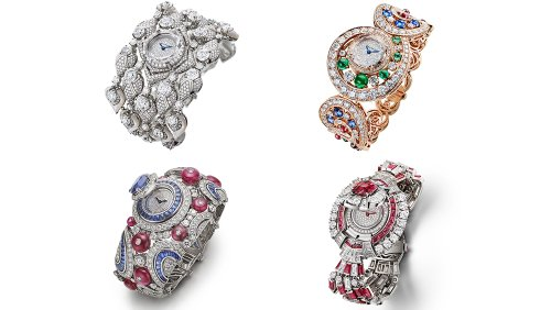 Bulgari Just Dropped 4 New High Jewelry Watches and 3 New Octa Roma Models