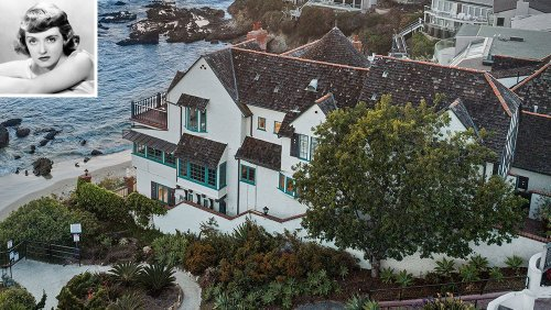 Home of the Week: Bette Davis Once Owned This Laguna Beach Estate. It Just Listed for $20 Million.