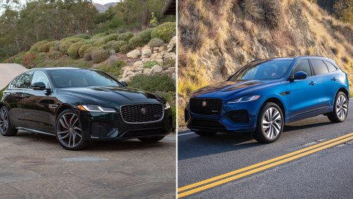 First Drives: Jaguar's 2021 XF and F-Pace Mark the End of an Era with a Grand Exit