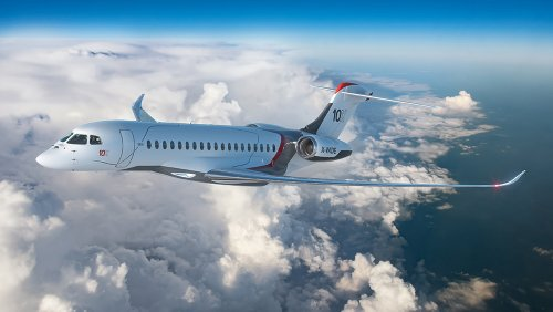 Dassault's Falcon 10X Might Just Be the Most Comfortable Ultra-Long-Range Business Jet
