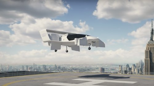 The Jetoptera J-2000 VTOL Concept Uses Dyson-Style 'Bladeless Fans' to Fly