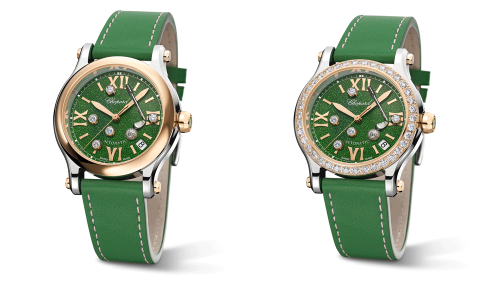 The Dial of Chopoard's New Golf Watch Has Diamond 'Balls' That Move Across the Green