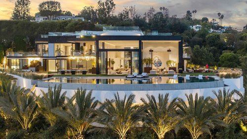 Inside a Sprawling $88 Million LA Mansion With a 3-D Light Show That Rivals Disneyland's