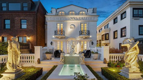 Home of the Week: This $17 Million Mansion in San Francisco Is Straight Out of Paris's 6th Arrondissement