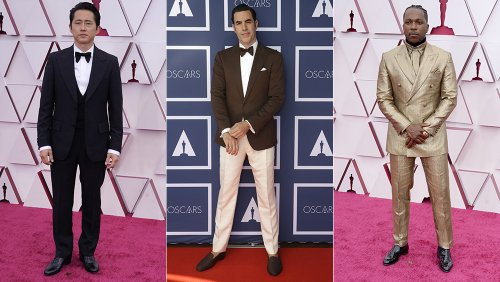 From a 24K Gold Suit to '70s Swagger: The Oscars' Best-Dressed Men Suited Up to Celebrate