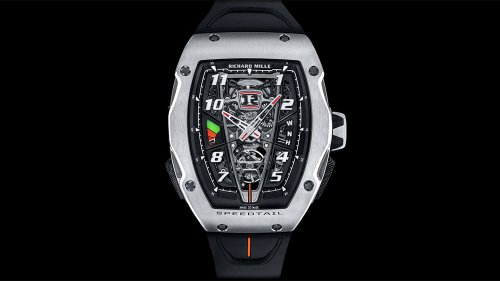 McLaren Teams Up With Richard Mille for Powerful New Watch Inspired by the Speedtail