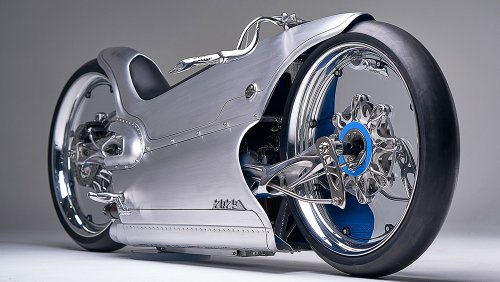 This Insane New Electric Motorcycle Was Made Using 3-D-Printed Titanium Parts