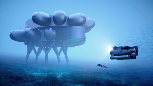 Voyage to the Bottom of the Sea? This New Research Center Is Like an Underwater Space Station