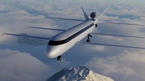 This Bonkers Tri-Wing Jumbo Jet Concept Reduces Fuel Consumption by 70%