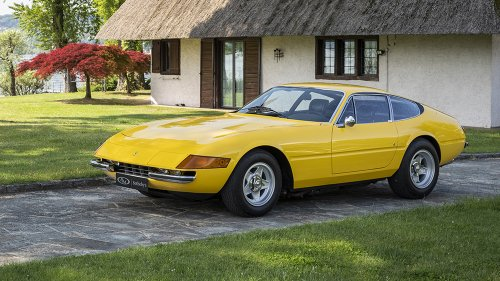 This Striking 1973 Ferrari Daytona Could Fetch up to $800,000 at Auction