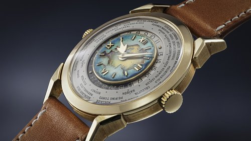 This Rare Patek Philippe World Timer Just Sold for a Record-Breaking $7.8 Million