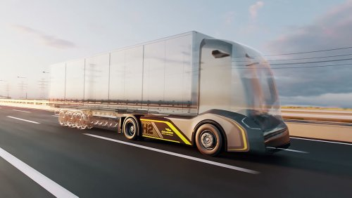This Hydrogen-Powered 'Skateboard' Truck Can 18 Carry Tons of Freight—Without Carbon Emissions
