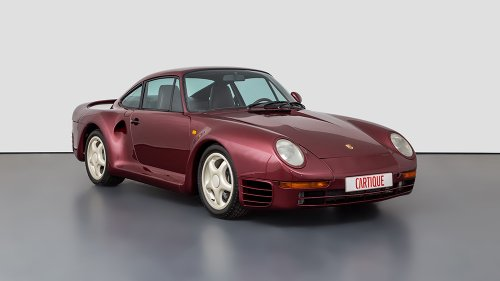 This Rare 1-of-12 Porsche 959 F-Series Prototype Just Popped Up for Sale