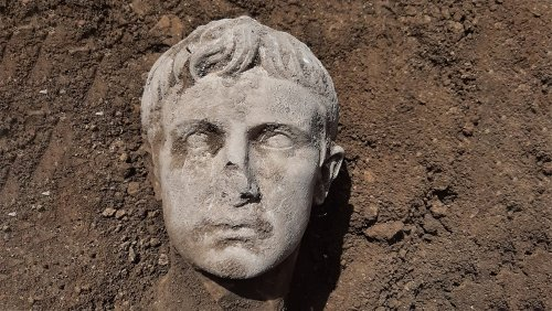 Archaeologists Just Unearthed an Ancient Bust of the Roman Emperor Augustus in a Small Italian Town
