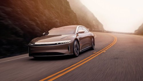 The All-Electric Lucid Air Has Longer Range—520 Miles!—Than Any Other EV, EPA Says