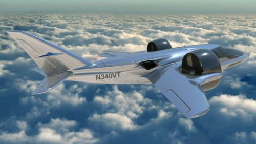Why This New 7-Passenger Hybrid VTOL Has Giant Fans Inside Its Wings