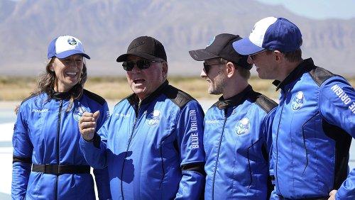 'Weightlessness. Jesus': Watch 90-Year-Old William Shatner Float in Space on His Blue Origin Flight
