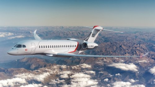 Dassault's New Ultra-Long-Range Flagship Jet Has the Largest Interior in Its Class