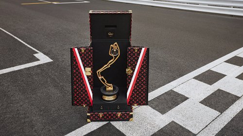This Year's Monaco Grand Prix Trophy Comes With Its Own Bespoke Louis Vuitton Trunk