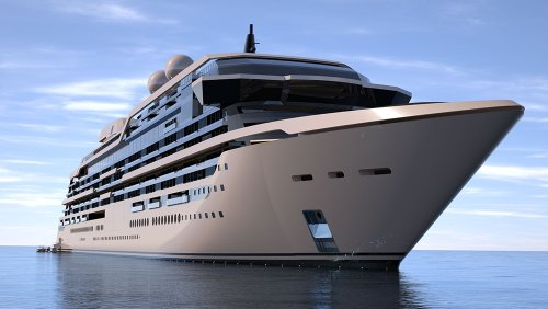 This Epic 961-Foot Superyacht Comes With Duplexes and Triplexes That Have Their Own Elevators