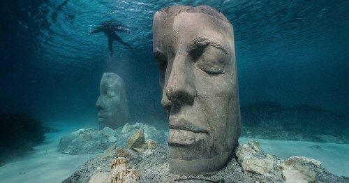 Cannes inaugura museo submarino del escultor Jason deCaires Taylor