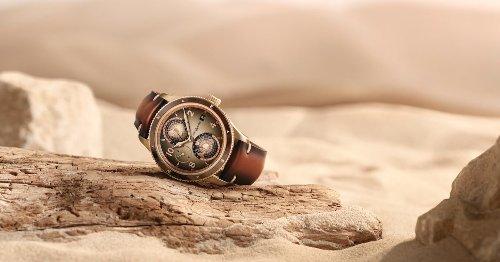 Este nuevo reloj de Montblanc está inspirado en los colores del desierto y luce tan espectacular como sus paisajes