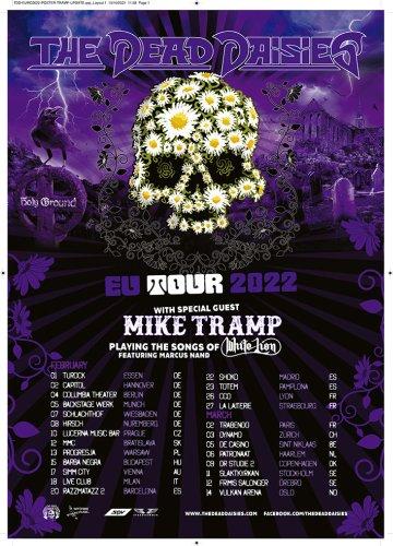 THE DEAD DAISIES anuncian gira en 2022 con Mike Tramp (White Lion)
