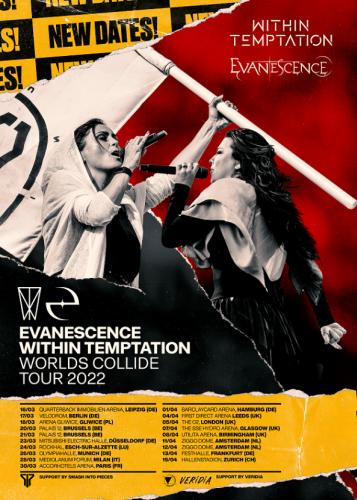Within Temptation & Evanescence aplazan su gira a 2022