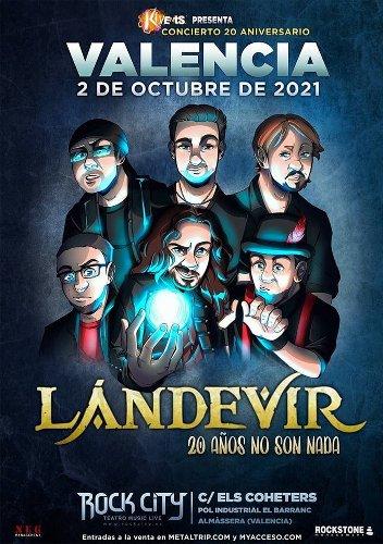 Landevir anuncia conciertos en Madrid y Valencia
