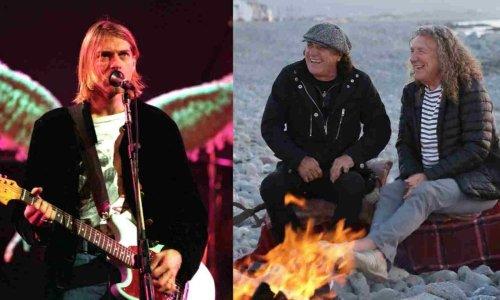 The reason why Kurt Cobain didn't like AC/DC and Led Zeppelin lyrics