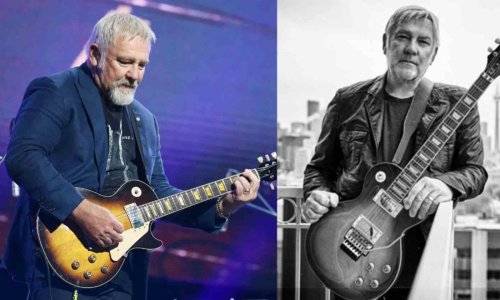 The guitarist that Rush's Alex Lifeson named as his favorite of all time