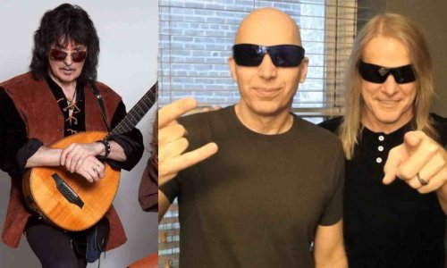 What is Ritchie Blackmore's opinion on Steve Morse and Joe Satriani