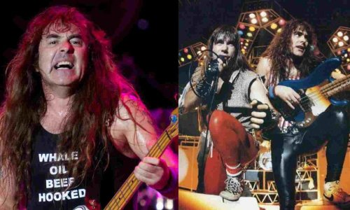 What was Steve Harris favorite albums of all time back in the 80's
