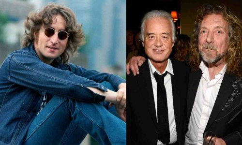 What was John Lennon's opinion about Led Zeppelin and Jimmy Page