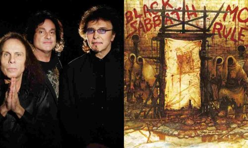 "Tony Iommi recalls writing ""Mob Rules"" at John Lennon's ""Imagine"" house"