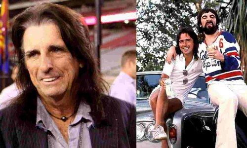 Alice Cooper says Keith Moon is the best drummer of all time
