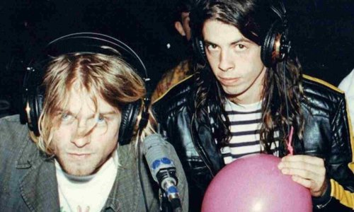 Dave Grohl talks about the day after Kurt Cobain died