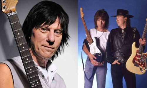 Jeff Beck talks about Stevie Ray Vaughan and his tragic death