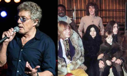 """Roger Daltrey recalls he """"froze"""" when he first saw The Beatles face to face"""