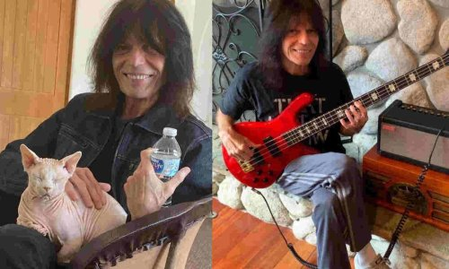 Bassist Rudy Sarzo recalls how he started to play music and his influences