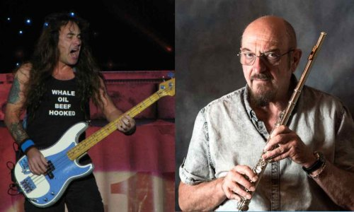 What is Steve Harris favorite Jethro Tull album and his opinion on ELP