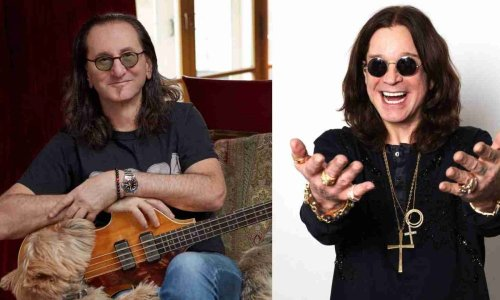 When Geddy Lee said he gets mistaken for Bono Vox and Ozzy in airports