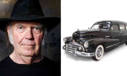 The story of the hearse that Neil Young drove in the beginning of his career