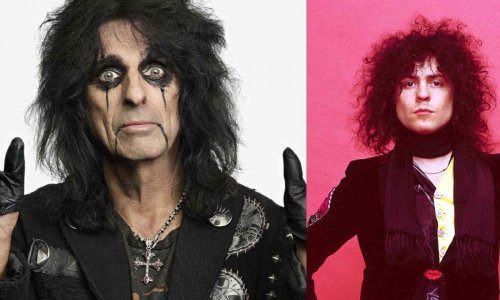 Alice Cooper recalls recording with Keith Moon, Marc Bolan and more