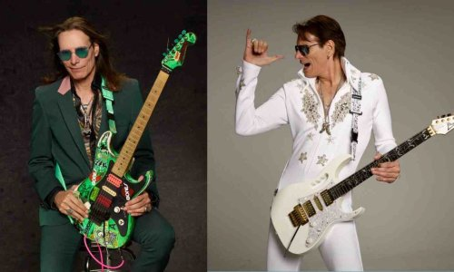 Guitarist Steve Vai elects the best band he ever saw playing live
