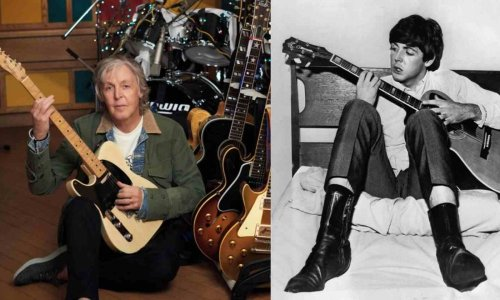 Paul McCartney and his favorite guitarists of when he was young