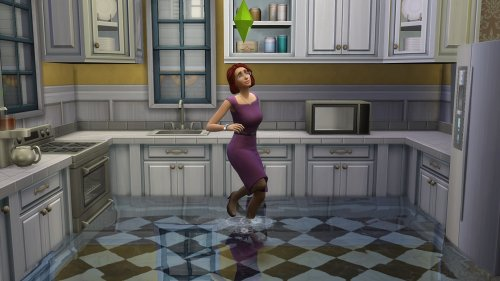 The Sims 4 players are flooding their homes with the new pond tool